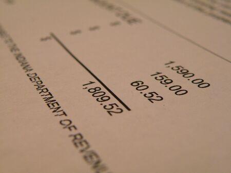 Department of Revenue Statement