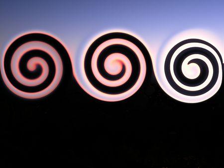 Three Swirls