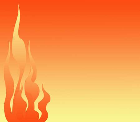 flaming: Flaming stationary background Stock Photo