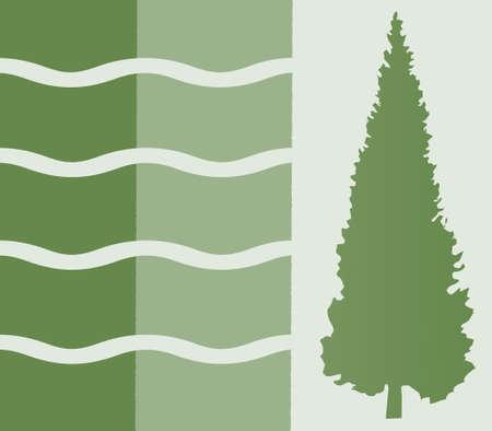 Crazy Tree Paper Design