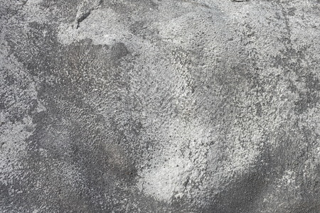 Concrete sprayed on the surface of a mountain