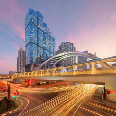 Chong Nonsi, BTS Skytrain, Sathorn Intersection, Bangkok, Thailand