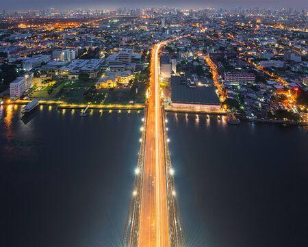The Top of Rama VIII Bridge, Bangkok, Thailand