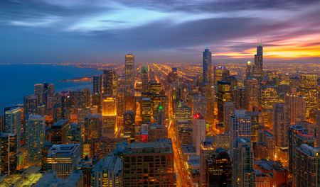 chicago city: Chicago City, Chicago, illinois, USA