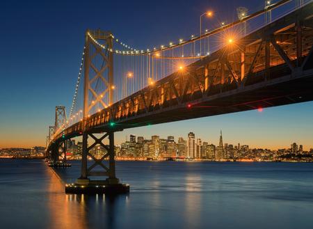 The Bay Bridge, San Francisco, Californa, USA
