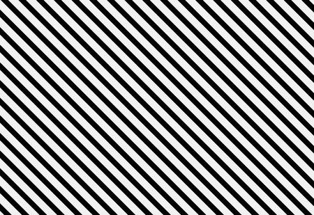 Diagonal lines pattern on white, seamless background. Striped texture. 3d illustration 写真素材