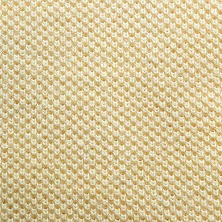 Yellow fabric pattern texture background. top view of cloth textile surface. Stock Photo