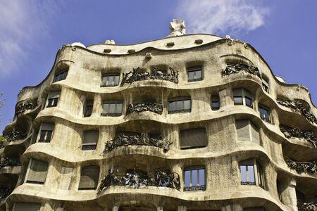 La Pedrera, also called Casa Mila, Barcelona, Spain