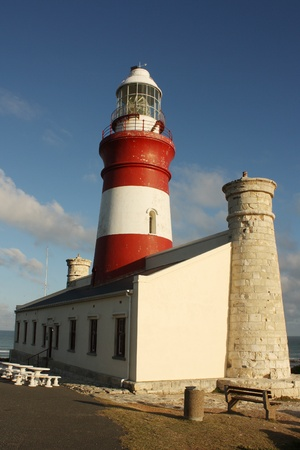 southernmost: The Cape Agulhas Lighthouse is situated at Cape Agulhas, the southernmost tip of Africa.
