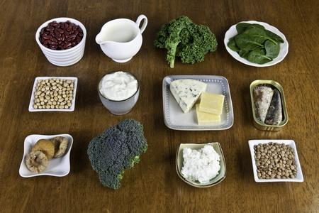 osteoporosis: Las fuentes alimenticias de calcio