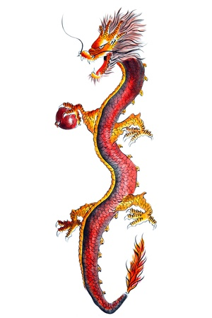 chinese art: Chinese dragon