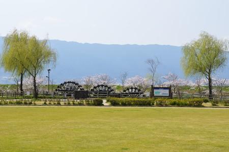 Asakura Triple Waterwheel  image before the flood of 72017