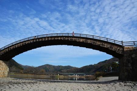 Kintai bridge  Japan famous tourist destinations Stock Photo