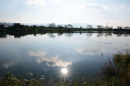 Chikugo River Japan Fukuoka Asakura-city