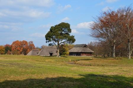 Historic site park Stock Photo
