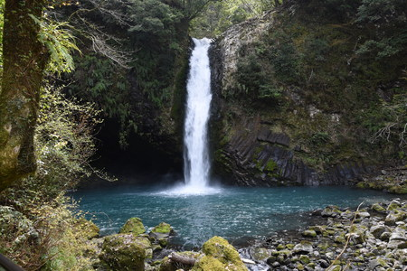 The famous waterfall of Japan.
