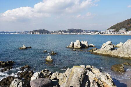 Japan's tourist attractions Hayama Coast