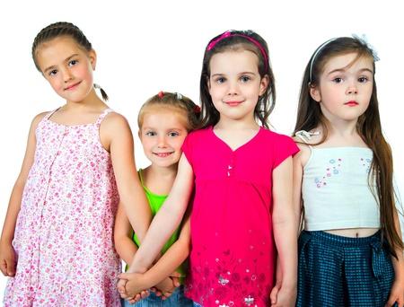 Cute little girls Stock Photo - 9636877
