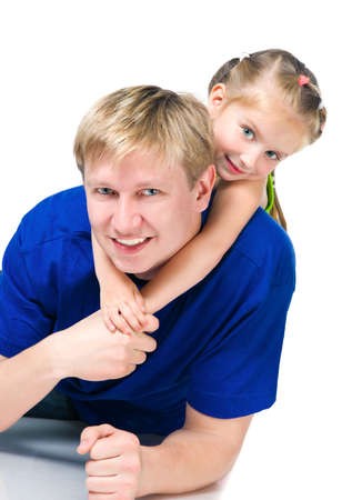 happy family Stock Photo - 9636872