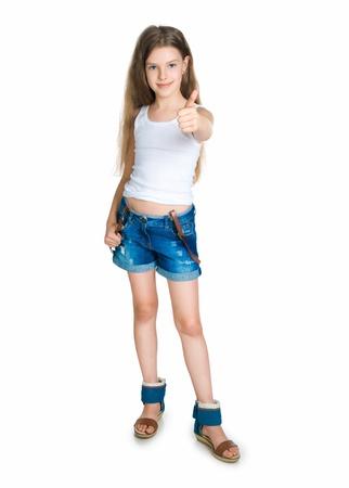 10 years girls: cute child