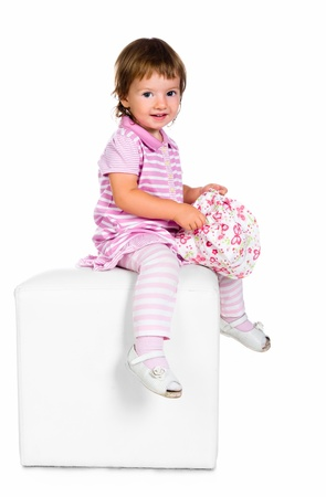 portrait of a pretty little girl Stock Photo - 10226074