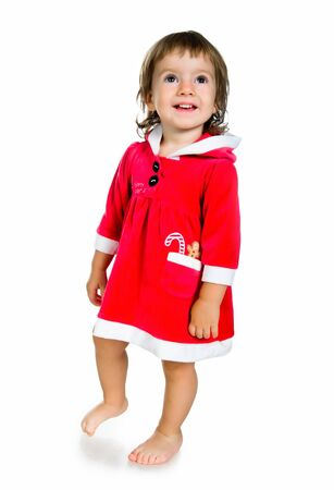 Christmas cute kid Stock Photo - 10226070