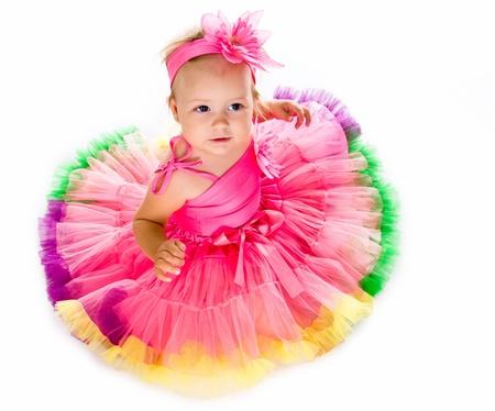 apparel: Little girl in fairy costume