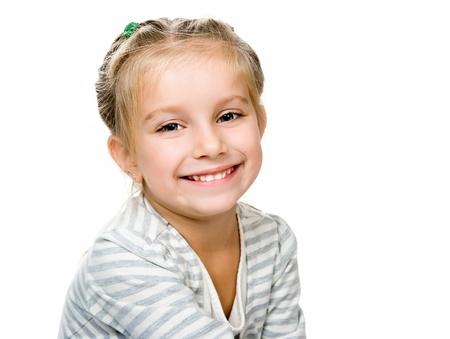 expression facial: Cute little girl