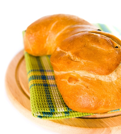 newly baked bread