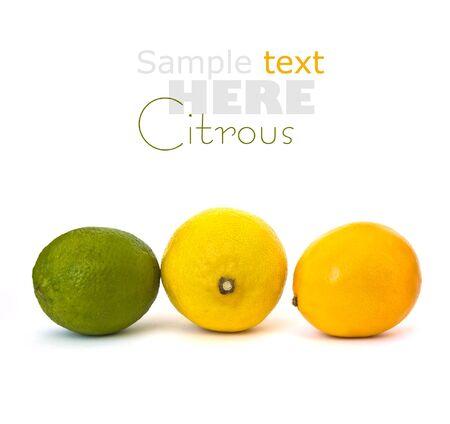 yeloow: Lime and lemons