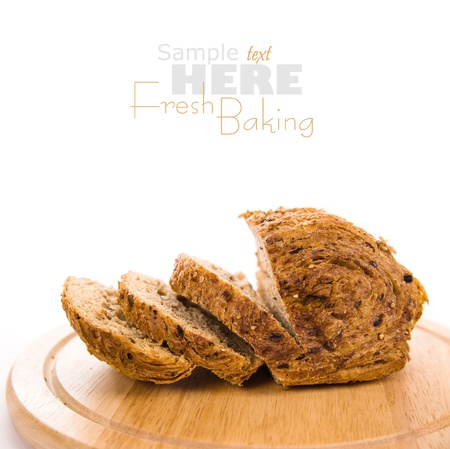 freshly: newly baked bread