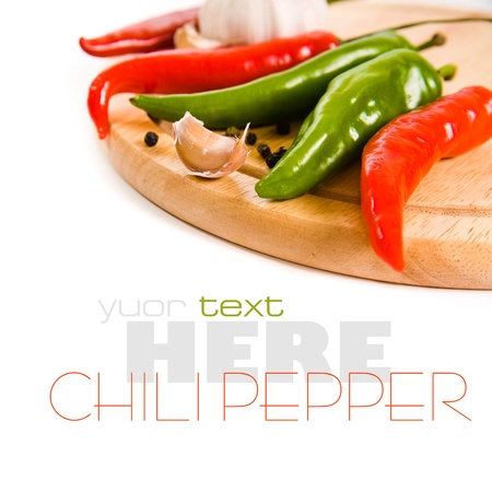 chiles picantes: Red chili peppers