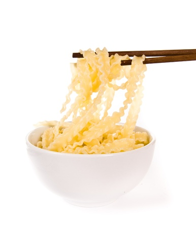 pinch: noodle with pinch chopsticks