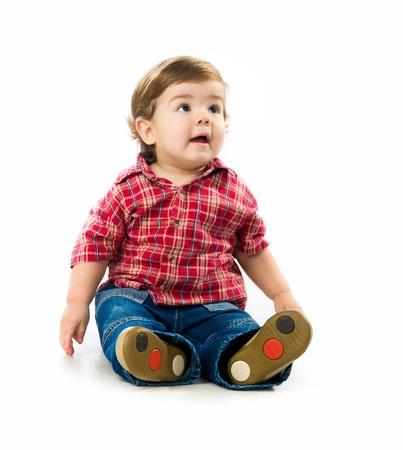 Cute little boy photo