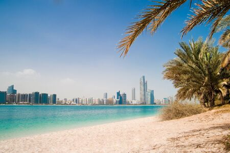 metropolis on the gulf coast in Dubai photo
