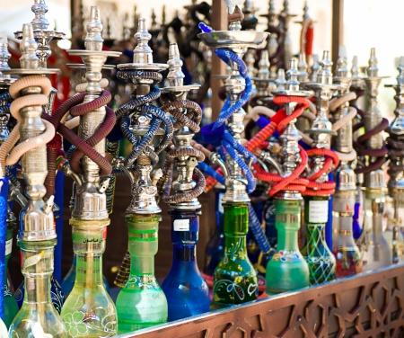 Hookah in souvenir shop at UAE