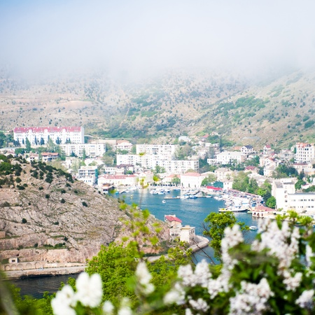 Beautiful summer day  Crimea, Balaklava photo