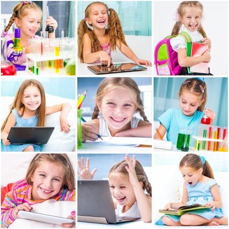 education collage   schoolchildren are trained Stock Photo - 22936316