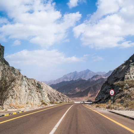 unsurfaced road: beautiful road in mountains