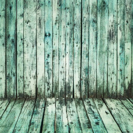 The blue wood texture with natural patterns background photo