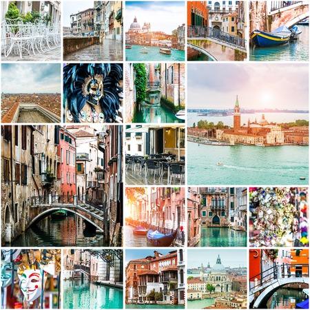 Reeks foto's van Venetië. Italië