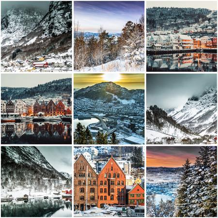 Set photos  from Bergen, Norwegia photo