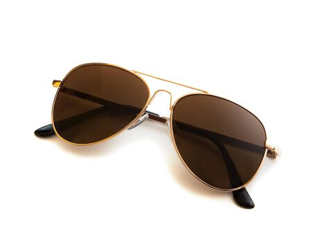 aviator: Aviator sunglasses isolated on white isolated