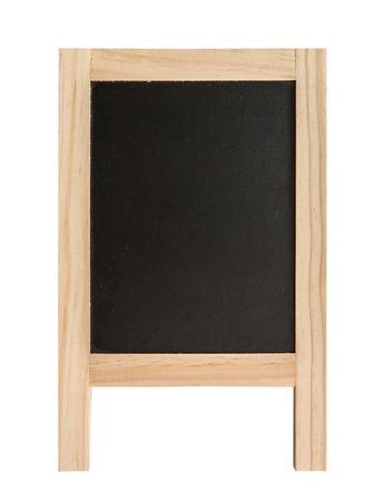 blank slate: Blank slate, chalkboard isolated on the white background