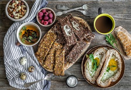 Healthy diet breakfast Reklamní fotografie