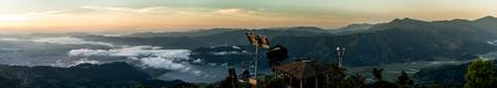 Panoramablick auf den Himalaya, Nepal Standard-Bild - 89291423