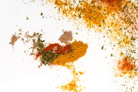 spices abstract background Imagens