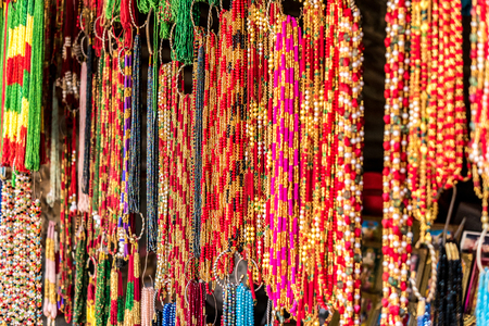 Nepalese souvenirs close-up