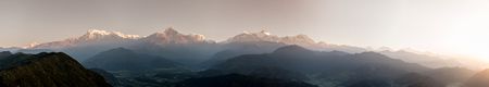 Panoramic view of Himalayas, Nepal