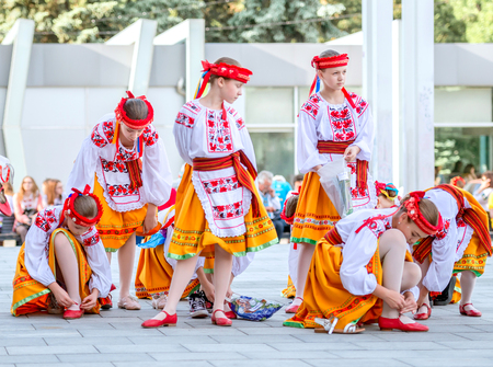 People celebrate Vyshyvanka Day, Kharkiv, Ukraine